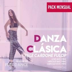 DANZA CLÁSICA - Vale Cardone Fulop - ONLINE ZOOM MIÉRCOLES 16:00 HS - PACK ABRIL 21 y 28