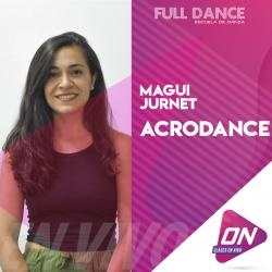 Acrodance. Magui Jurnet. Lunes 13/07 18:00hs. Clases Online en Vivo