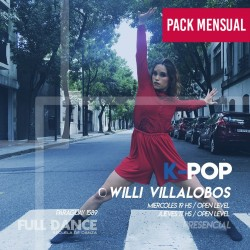 K-POP - Willy Villalobos - ONLINE ZOOM MIÉRCOLES 19:00 HS - PACK MAYO