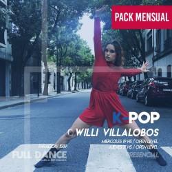 K-POP - Willy Villalobos - ONLINE ZOOM MIÉRCOLES 19:00 HS - PACK ABRIL