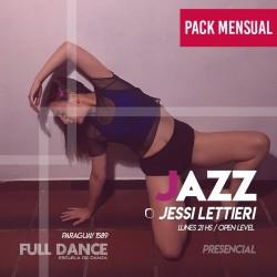 DANZA JAZZ - Jessi Lettieri - ONLINE ZOOM LUNES 21:00 HS - PACK 10/17/31 de MAYO
