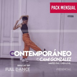 CONTEMPORÁNEO - Cami Gonzalez - ONLINE ZOOM MARTES 17:00 HS -  PACK MAYO 11/18