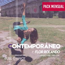 CONTEMPORÁNEO - Flor Rolando - ONLINE ZOOM SABADO 19:00 HS - PACK MAYO