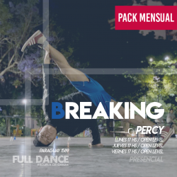 BREAKING - Pablo Percy - ONLINE ZOOM JUEVES 17:00 HS -   PACK MAYO