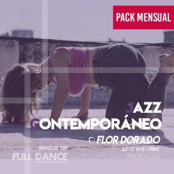 JAZZ CONTEMPORÁNEO - Flor Dorado -  ONLINE ZOOM JUEVES 18:00hs - PACK MAYO