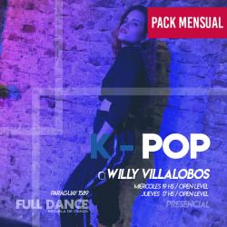 K-POP - Willy Villalobos - ONLINE ZOOM JUEVES 17:00 HS - PACK MAYO