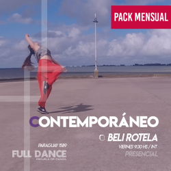 CONTEMPORÁNEO - Beli Rotela -  ONLINE ZOOM VIERNES 09:30hs - PACK MAYO