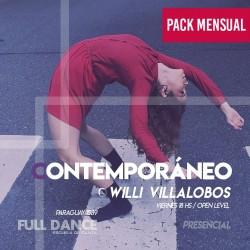 CONTEMPORÁNEO - Willy Villalobos - ONLINE ZOOM VIERNES 18:00 HS - PACK MAYO