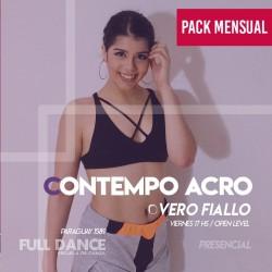 CONTEMPORÁNEO ACRO - Vero Fiallo - ONLINE ZOOM VIERNES 17:00 HS - PACK MAYO
