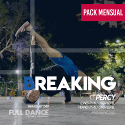 BREAKING - Pablo Percy - ONLINE ZOOM VIERNES 17:00 HS - PACK MAYO