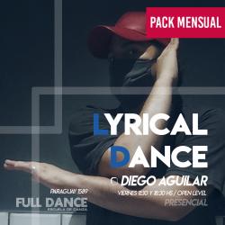LYRICAL DANCE  - Diego Aguilar - ONLINE ZOOM VIERNES 11:30 HS - PACK MAYO