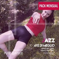 DANZA JAZZ - Aye Di Meglio - ONLINE ZOOM SABADO 19:00 HS - PACK MAYO
