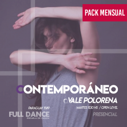 CONTEMPORÁNEO - Vale Polorena - ONLINE ZOOM MARTES 11:30 HS -  PACK MAYO 11/18