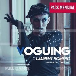 VOGUING - Laurent Romero - ONLINE ZOOM - MARTES 18:30 HS - PACK MAYO 11/18