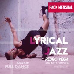 LYRICAL JAZZ - Pedro Vega - ONLINE ZOOM LUNES 18:30 HS - PACK 10/17/31 de MAYO