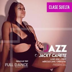DANZA JAZZ - Jacky Cañete - ONLINE ZOOM MIERCOLES 20:00 HS  - 05 DE MAYO