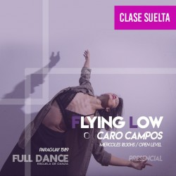 FLYING LOW - Caro Campos - ONLINE ZOOM MIERCOLES 18:30 HS -  05 DE MAYO