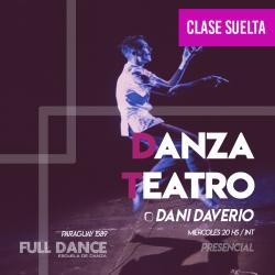 DANZA TEATRO - Daniel Daverio - ONLINE ZOOM MIÉRCOLES 20:00 HS -  05 DE MAYO