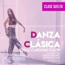 DANZA CLÁSICA - Vale Cardone Fulop - ONLINE ZOOM MIÉRCOLES 18:00 HS - 05 DE MAYO