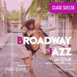 BROADWAY JAZZ - Lucila Tolis - ONLINE ZOOM MIÉRCOLES 20:00 HS - 05 DE MAYO