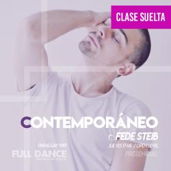 CONTEMPORÁNEO - Fede Steib - ONLINE ZOOM JUEVES 17:00 HS - 06 DE MAYO