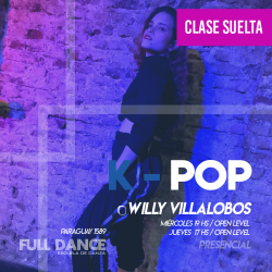 K-POP - Willy Villalobos - ONLINE ZOOM JUEVES 17:00 HS - 06 DE MAYO