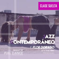 JAZZ CONTEMPORÁNEO - Flor Dorado -  ONLINE ZOOM JUEVES 18:00hs - 06 DE MAYO