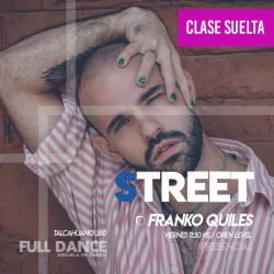 STREET JAZZ - Franco Quiles - ONLINE ZOOM VIERNES 11:30 HS - 07 DE MAYO