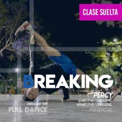 BREAKING - Pablo Percy - ONLINE ZOOM VIERNES 17:00 HS - 07 DE MAYO