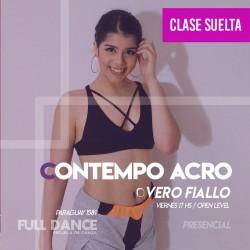 CONTEMPORÁNEO ACRO - Vero Fiallo - ONLINE ZOOM VIERNES 17:00 HS - 07 DE MAYO