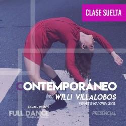 CONTEMPORÁNEO - Willy Villalobos - ONLINE ZOOM VIERNES 18:00 HS - 07 DE MAYO