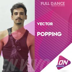Popping - Vector. Lunes 13/07 21:00hs. Clases Online en Vivo
