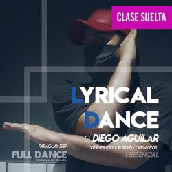LYRICAL DANCE  - Diego Aguilar - ONLINE ZOOM VIERNES 18:30HS - 07 DE MAYO