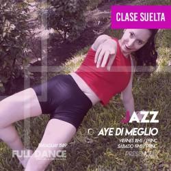 DANZA JAZZ - Aye Di Meglio - ONLINE ZOOM VIERNES 18:00 HS - 07 DE MAYO
