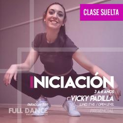 INICIACIÓN A LA DANZA  (3 a 6 años)  - Viqui Padilla - CLASE SUELTA -ONLINE ZOOM LUNES 17:00 HS - 10 DE MAYO