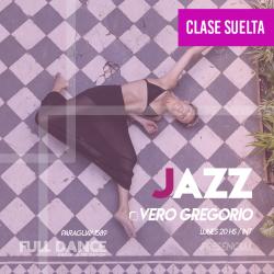 DANZA JAZZ - Vero Gregorio - CLASE SUELTA - ONLINE ZOOM LUNES 20:00 HS - 10 DE MAYO