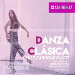 DANZA CLÁSICA - Vale Cardone Fulop - CLASE SUELTA - ONLINE ZOOM LUNES 16:00 HS - 10 DE MAYO