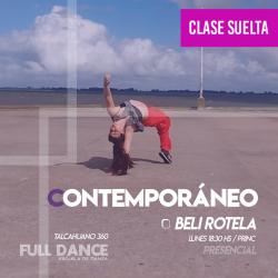CONTEMPORÁNEO - Beli Rotela -  CLASE SUELTA - ONLINE ZOOM LUNES 18:30hs -  10 DE MAYO