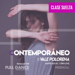 CONTEMPORÁNEO - Vale Polorena - CLASE SUELTA ONLINE ZOOM MARTES 11:30 HS - 11 DE MAYO