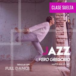 DANZA JAZZ - Vero Gregorio - CLASE SUELTA - ONLINE ZOOM MARTES 21:30 HS - 11 DE MAYO