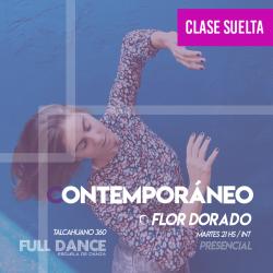 CONTEMPORÁNEO - Flor Dorado -  CLASE SUELTA - ONLINE ZOOM MARTES 21:00hs -  11 DE MAYO