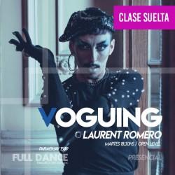 VOGUING - Laurent Romero - CLASE SUELTA - ONLINE ZOOM - MARTES 18:30 HS - 11 DE MAYO