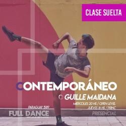 CONTEMPORÁNEO - Guille Maidana - ONLINE ZOOM MIÉRCOLES 20:00 HS  - 05 DE MAYO