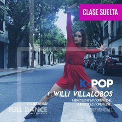 K-POP - Willy Villalobos - ONLINE ZOOM MIÉRCOLES 19:00 HS - 05 DE MAYO