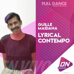 Lyrical Contemporáneo - Guille Maidana. Miércoles 27/05 21:00hs. Clases Online en Vivo