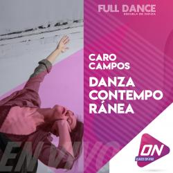 Contemporáneo - Caro Campos. Miércoles 08/07 16:00hs. Clases Online en Vivo