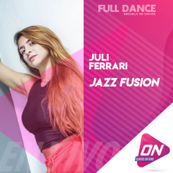 Jazz Fusion - Juli Ferrari. Miércoles 08/07 19:00hs. Clases Online en Vivo