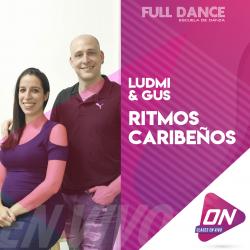 Ritmos Caribeños - Ludmila Galli. Miércoles 08/07 18:00hs. Clases Online en Vivo