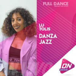 Jazz - Lu Tolis. Martes 14/07 21:00hs. Clases Online en Vivo