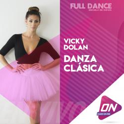 Danza Clásica - Vicky Dolan. Martes 14/07 11:30hs. Clases Online en Vivo